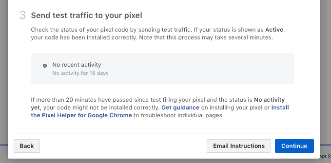 Facebook pixel install step 3 2017