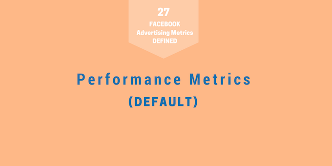 Metrics 1 - Performance Default