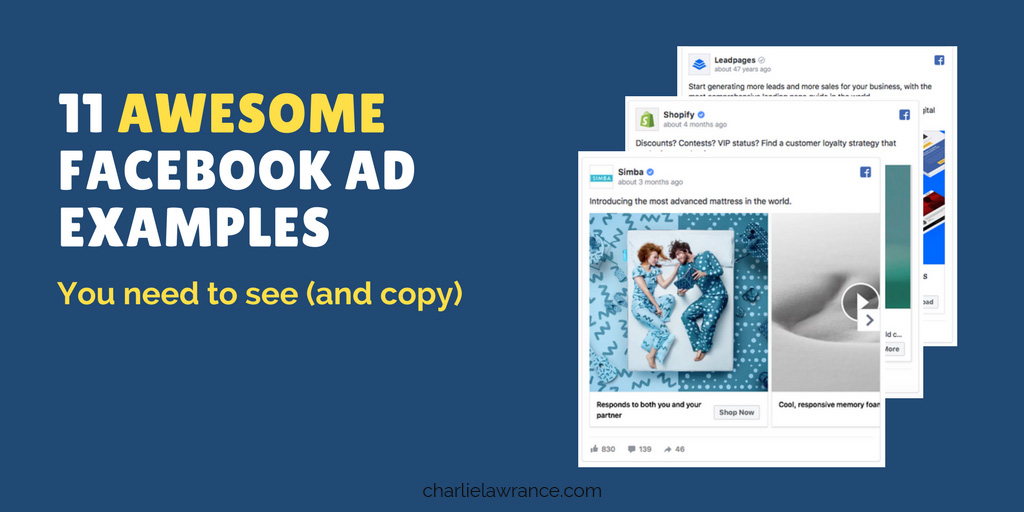 11 awesome Facebook ad examples you need to see (and copy)