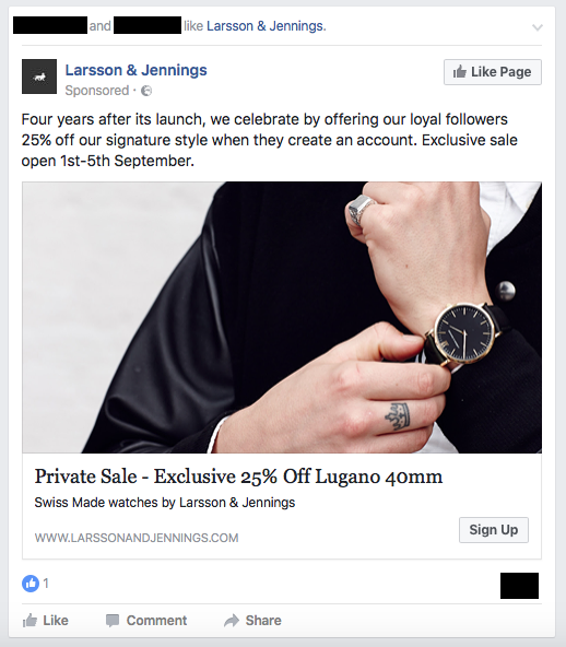 eCommerce ad examples