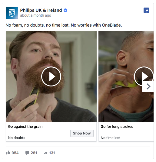 Philips ad examples