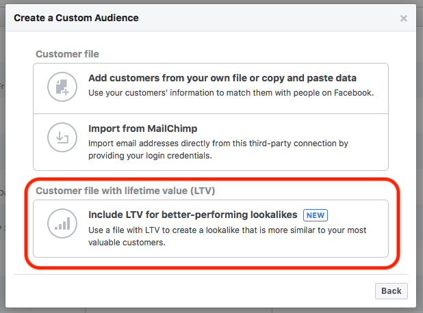 9 Advanced Facebook Advertising Tips Customer Lifetime Value Audience
