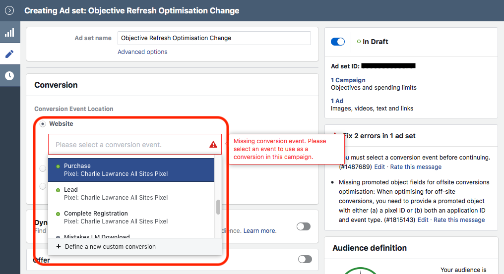 Ad Set Optimisation Change Facebook Ad Fatigue