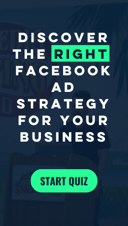 Facebook Ads Strategy Quiz Side Banner